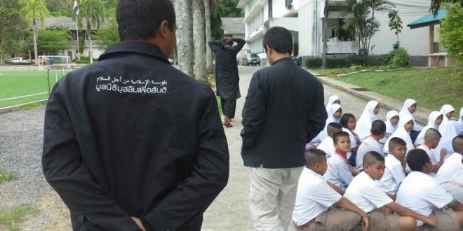 มูลนิธิมุสลิมเพื่อสันติ ลงพื้นที่ รร. บางเทา