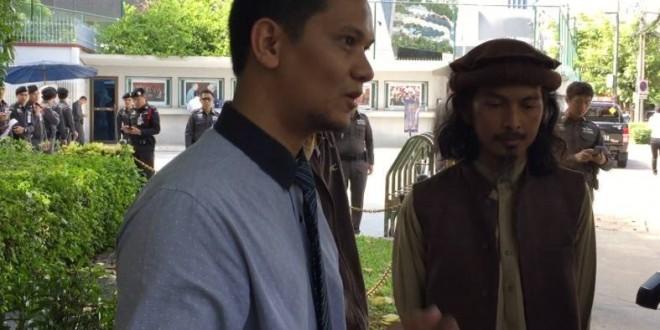 หัวหน้าฝ่ายกฎหมายมูลนิธิมุสลิมเพื่อสันติ ยื่นหนังสือถึงสถานทูตจีน กรณีอุยกูร์