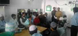 มูลนิธิมุสลิมเพื่อสันติร่วมกับสหกรณ์อิสลามอมานะฮฺแจกเนื้อกุรบานชาวโรฮิงญา กว่า 100 คน