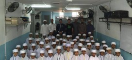 เลขา มมส. และตัวแทนไวท์แชนเนลเยี่ยมโรงเรียน มะฮฺหัด อัล อาระกัน มาเลเซีย